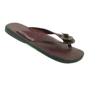 J.P. and MATTIE Feng Shui I Ching Coin Sandals